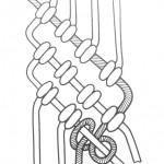 Діагональний ребристий вузлик