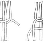 Вузлик подвійний плоский